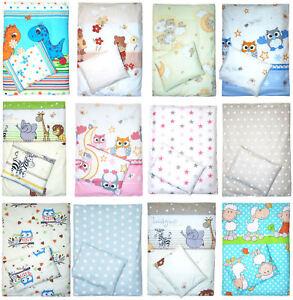 2 tlg- Bezug für Kinderwagenset Baby Bettwäsche für Kinderwagen -VIELE DESIGNS!!