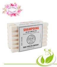 shampooing solide à la kératine et au lait d'anesse bio tous cheveux