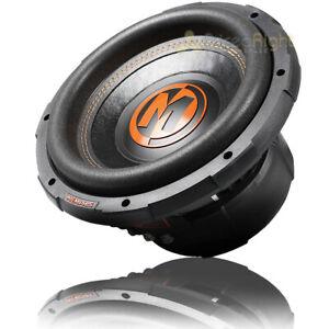 "Memphis Audio 10"" Subwoofer MOJO PRO Sub Dual 4 Ohm 750W RMS Power MJP1044"