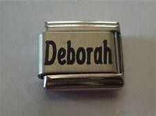 9mm Classic Size Italian Charms Charm Names Name Deborah