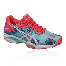 Asics Mujer Gel-solution Speed 3 L.e. Paris Tenis Zapatos Azul Rosa Deporte