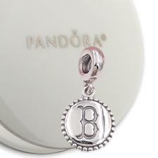 Authentic Pandora Charm Boston Red Sox Baseball Dangle 791169-G004 *RETIRED*
