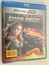 Drive Angry (Blu-ray Disc, 2011, 2-Disc Set, 2D/3D) (NEW) Amber Heard