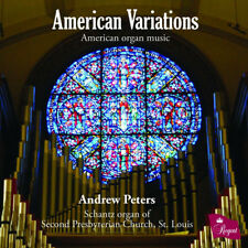 Andrew Peters : Andrew Peters: American Variations: American Organ Music CD