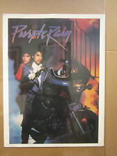 Vintage PRINCE Purple Rain rock and roll poster 3276