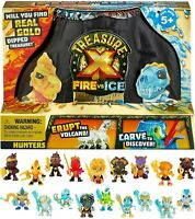 Treasure X Fire vs Ice Hunter Pack - New Version Factory Sealed Pack Unopened