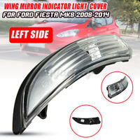 Left Door Side Wing Mirror Signal Indicator Light Len For Ford Fiesta MK8