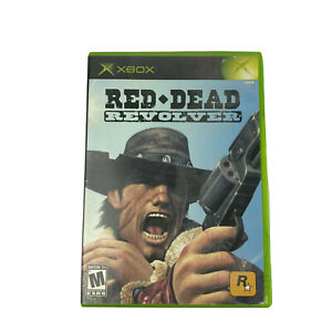 Red Dead Revolver Microsoft Xbox Video Game Complete 2004 TESTED