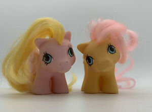 My Little Pony Newborn Twins Dibbles Nibbles Generation Vtg 1987 Pegasus Horse
