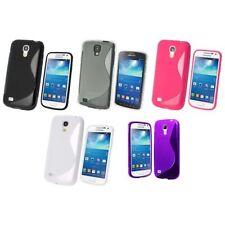 Étuis, housses et coques noirs Samsung en silicone, caoutchouc, gel pour téléphone mobile et assistant personnel (PDA)