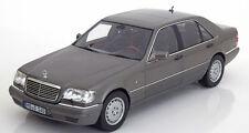 NOREV 1997 Mercedes Benz S600 W140 V12 Grey Metallic 1:18 LE 1000*New Item!