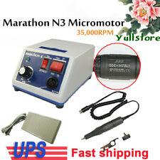 Dental Electric Micromotor Marathon Polishing Machinelab 35000 Rpm Handpiece
