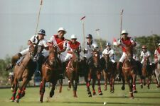 Polo Match Thailand & Indonesia SEA Games 2007, Sports Stadium Horses - Postcard