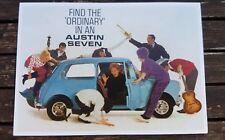 ORDINARY Austin Seven 7 Mini c1960 Vintage Ad Gallery No 48 Postcard VM447PC