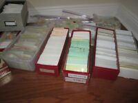 Worldwide Collection ,dealer cards,glassines,sets ,pre-1940, recent ,115 diff.