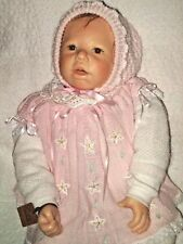"""Baby Doll Wax Over Porcelain 1-Of-A-Kind  26""""T"""