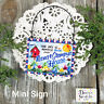 Wood Ornament * NaNa & Grampy 's House * Everyday Mini Sign DecoWords New USA