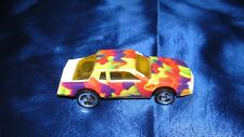 1988 Hot Wheels Crunch Cheif White/Red, Orange, Green Tampos Black Painted Malay