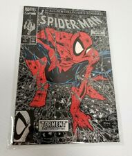 FACTORY SEALED Spider-Man #1 Aug 1990 Marvel Comics Todd McFarlane Silver Cover