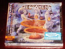 Testament: Titans Of Creation + Live Tokyo 2 CD Set 2020 Nuclear Blast Japan NEW