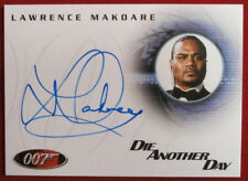 JAMES BOND - DIE ANOTHER DAY - LAWRENCE MAKOARE as Mr Kil - AUTOGRAPH CARD A38