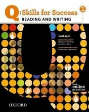 Q: Skills for Success - Reading & Writing 1: Student Book by Sarah Lynn