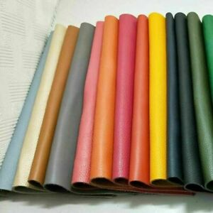 DIY Real Genuine Leather Fabric First Layer Cowhide Scrap Material Hide Cut Soft