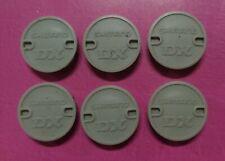 Shimano - DX Pedal Caps - Grey - old school bmx kuwahara redline tange