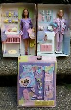 Pregnant Midge & Baby Happy Family Barbie Doll Doctor Fashion Bump No Outer Box""