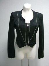 Miss Sixty kurzer Blazer Jacke schwarz Gr. L