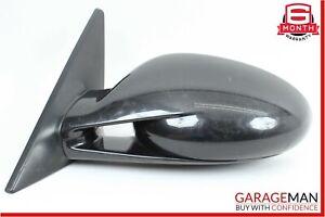 06-08 Porsche Cayman 987 Front Left Driver Side Mirror Door Rear View Black OEM