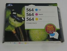 HP 564 ink cartridges, New in Sealed Box warranty ends sep 2015 Plus Photo Paper