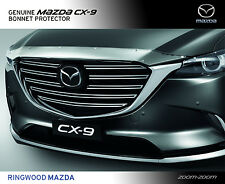 New Genuine Mazda CX-9 TC Bonnet Protector Stone Guard Accessory Part TC11ACBP