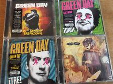Green Day [4 CD Alben] Making Insomniac + UNO + Tre + 21st Breakdown