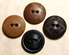 Vintage Collectible Colt Plastics Button Pattern #21 Princeton & 3 unconfirmed