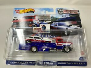 '74 Chevrolet Vega Pro & Horizon Hauler * 2021 Hot Wheels Team Transport Case M