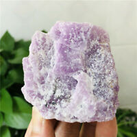 233g Raw Rough Rock Mineral Specimens Kunzite Gemstone Crystal Healing Stone