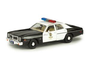 """Scale model car 1:24, DODGE Monaco """"Metropolitan Police"""" 1977 (from the movie """"T"""