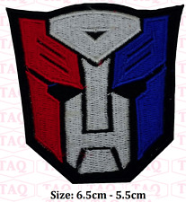 Transformers Optimus Prime Autobots Logo Iron on Patch embroidered