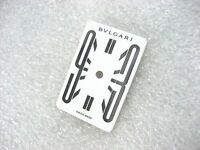 BVLGARI RETTANGOLO SWISS RT 39 S PARTS DIAL LADIES WATCH S/S WHITE DIAL