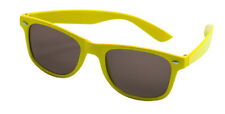 Party Glasses Blues Brothers Neon Yellow - Style Novelty Accessory Photo Booth