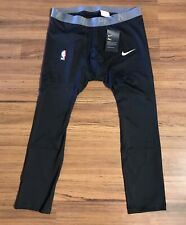 Nike NBA Pro 3/4 Compression Basketball Tights Mens Sz XXL-Tall Black NEW!!!
