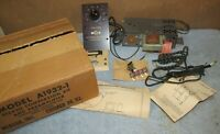 Vintage WEBCOR A1932-1 Stereo Conversion Kit & Preamplifier IOB No Tube J858