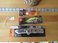 Rapala Scatter Lip crank bait fishing lure, Matzuo & knife (lot#11553)