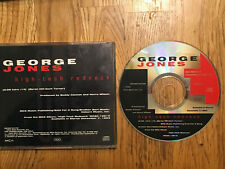 "GEORGE JONES ""High Tech Redneck"" PROMO CD DJ 1trk 1993"
