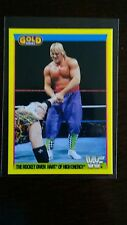 RARE-Owen Hart ROOKIE CARD-MERLIN WWF 1992 Gold Series 2 carte-Menta FREGATURA