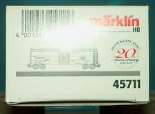 M&B Marklin HO 45711 Box car The Milwaukee Road  20 years marklin inc