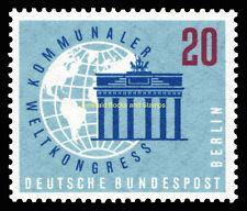 EBS West Berlin 1959 Municipal World Congress Michel 189 MNH**