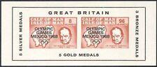 Pantorrilla de hombre 1968 Churchill/Olimpiadas/Deportes/juegos Olímpicos/personas IMPERF m/s s5129