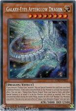 LDS2-EN052 Galaxy-Eyes Afterglow Dragon Secret Rare 1st Edition Mint YuGiOh Card